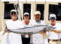 This Wahoo was caught while Deep Sea Fishing off Sunny Isles Beach