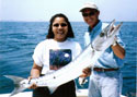 Deep Sea Fishing from Ft Lauderdale to Miami produces large Barracuda