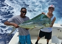 Another big Mahi Mahi caught aboard Old Hat.