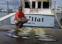 Deep Sea Fishing off Miami Beach produce big Mahi Mahi.