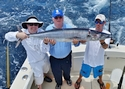 Fishing charters aboard Old Hat produce some nice Wahoo!